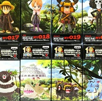 ワールドコレクタブルフィギュア STRONG WORLD Vol.3 8種