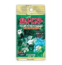 ポケットモンスターカードゲーム 第2弾 拡張パック ポケモンジャングル 1パック