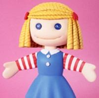 ヴァイナルコレクティブドール No.19 ハンナの人形