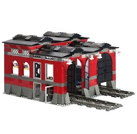 LEGO 10027 Train Engine Shed