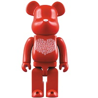BE@RBRICK 1000% International Love Heart