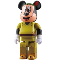 BE@RBRICK MICKEY MOUSE as ピーターパン 400%