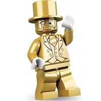 LEGO 71001 ミニフィギュアシリーズ10 Mr. GOLD