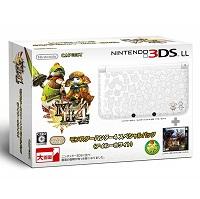 3DS LLモンスターハンター4 スペシャルパック アイルーホワイト