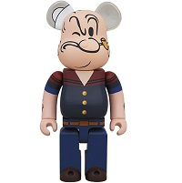 BE@RBRICK DRX NAVY POPEYE THE SAILOR MAN 400%