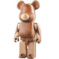 BE@RBRICK LAYERED WOOD 400%