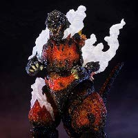 S.H.MonsterArts ゴジラ 1995 Ultimate Burning