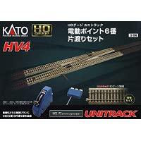 3-114 HV-4 電動ポイント6 番片渡りセット