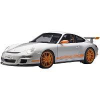1:12 ポルシェ 911 997 GT3 RS シルバー オレンジ