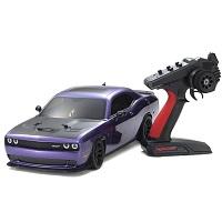フェーザーMk2 ダッジ SRT チャレンジャー 2015 ヘルキャット プラムクレイジーパープル 1/10 EP 4WD レディセット 34415T1