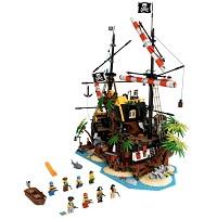 LEGO 21322 赤ひげ船長の海賊島