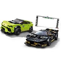 LEGO 76899 ランボルギーニ ウルスST-X & ウラカン・スーパートロフェオ EVO