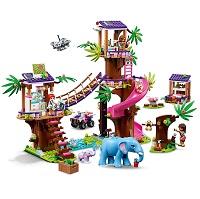 LEGO 41424 フレンズのジャングルレスキュー基地