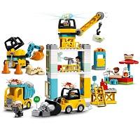 LEGO 10933 タワークレーンの工事現場