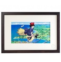 Cel Art Print From Studio Ghibli 魔女の宅急便