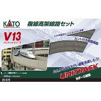20-872 V13 複線高架線路セット R414/381