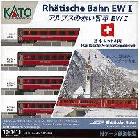 10-1413 アルプスの赤い客車EW-I 基本 4両