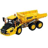 LEGO 42114 6×6 ボルボ アーティキュレート ダンプトラック