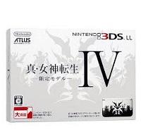 ニンテンドー 3DSLL 真 女神転生IV 限定モデル