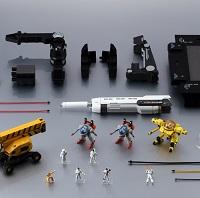 METAL STRUCTURE 解体匠機 RX-93 νガンダム専用オプションパーツ ロンド ベルエンジニアズ