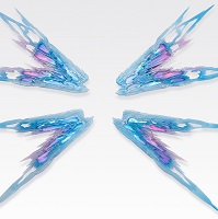 METAL BUILD ストライクフリーダムガンダム 光の翼オプションセット SOUL BLUE Ver
