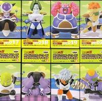 ドラゴンボールZ ワールドコレクタブル フィギュア vol.3 接近!ギニュー特戦隊編 8種