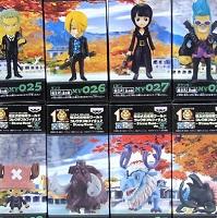 ワールドコレクタブルフィギュア STRONG WORLD Vol.4 8種
